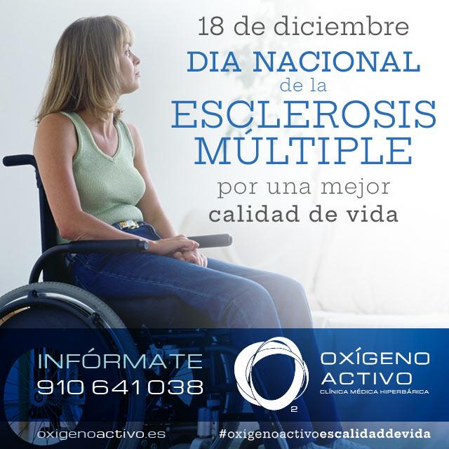 Oxígeno Activo Día de la Esclerosis Múltiple